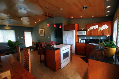 vaulted bamboo wood ceilings