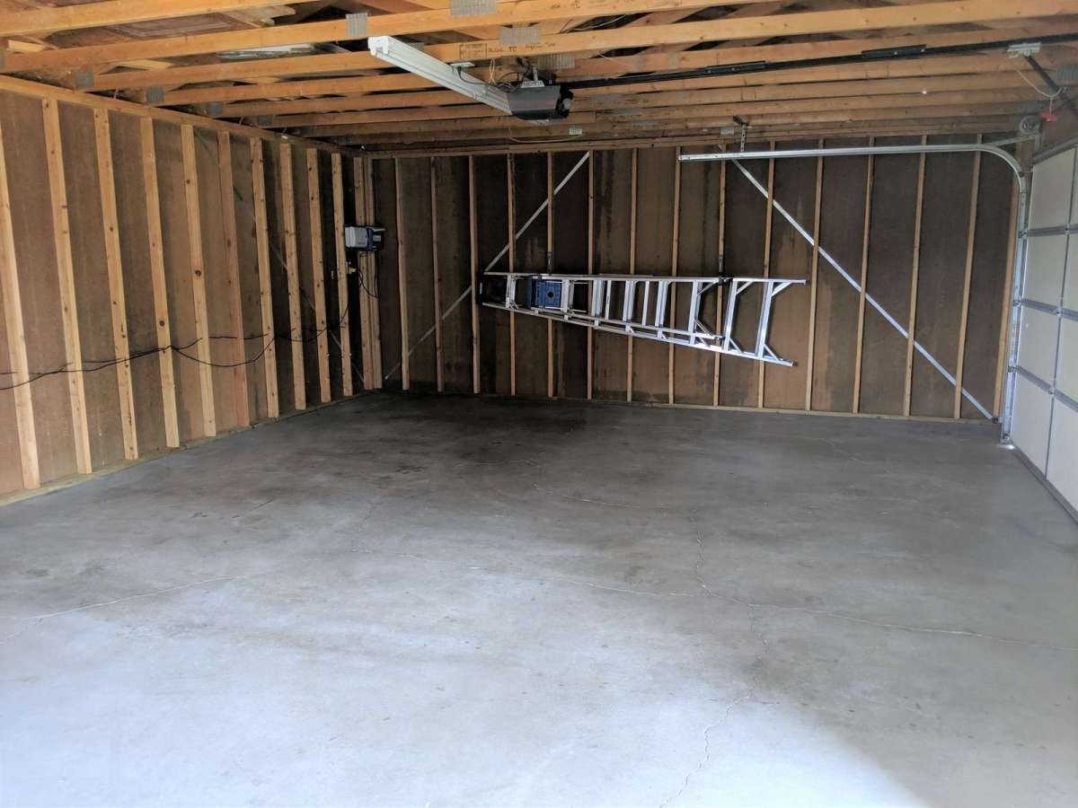 2 Car Garage with Lots of Space