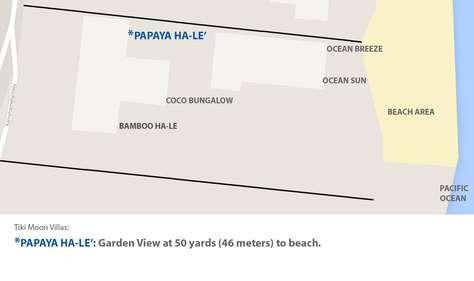 Proximity view of PAPAYA to ocean