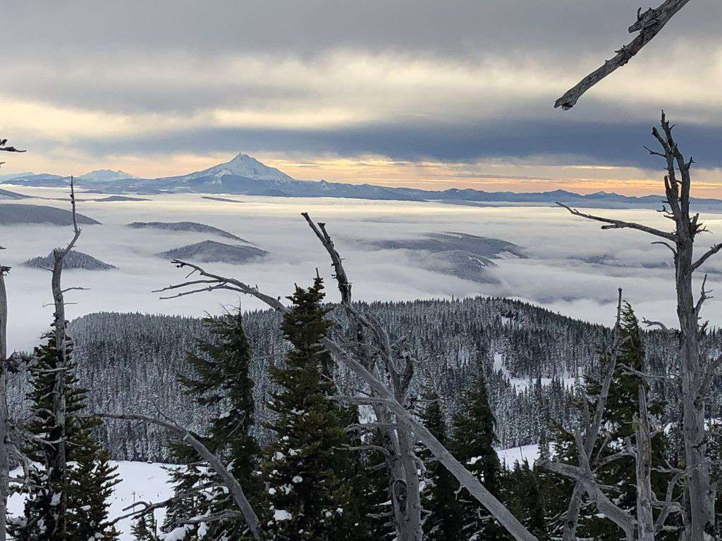 Any time of year Mt Hood is stunning. 1.5 hrs away and majestic to visit.