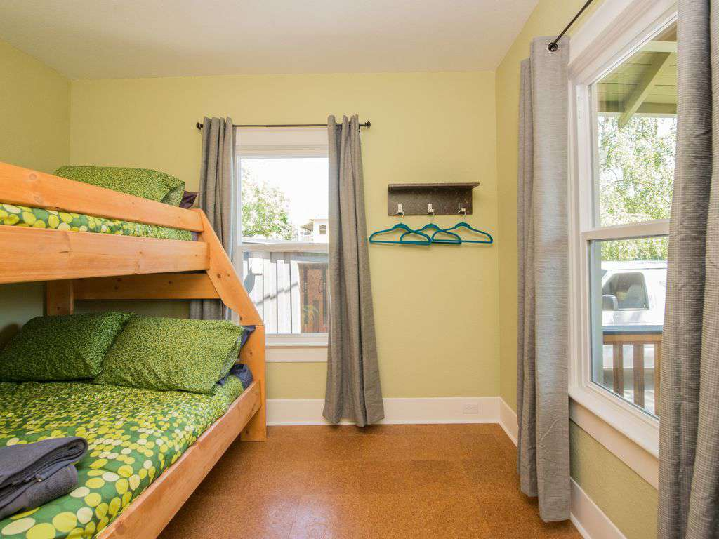 All rooms have lots of natural light, comfortable beds, and pillows.
