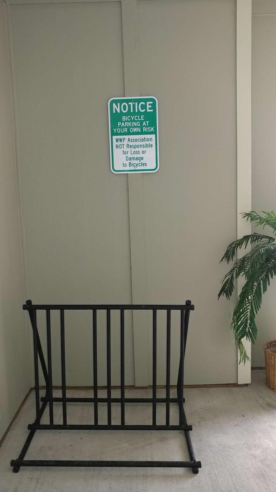 Located near the elevator