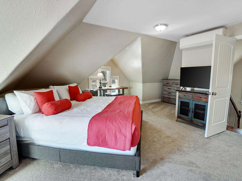 After an eventful day enjoy your day in the master bedroom.