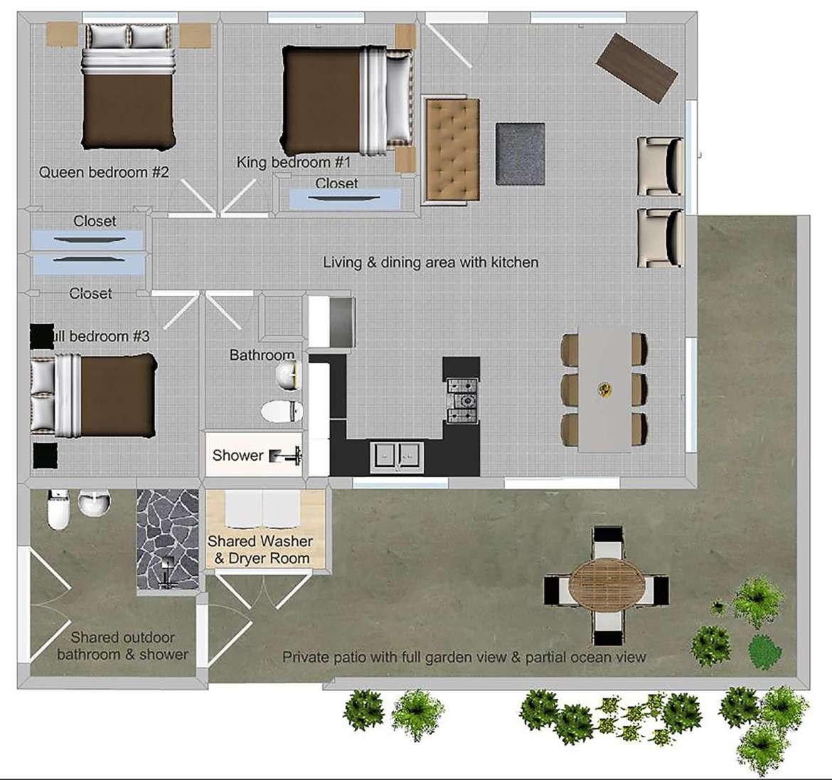 PAPAYA floor plan