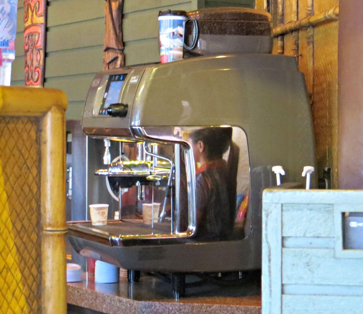 Espresso Machine at Sunshine Tree Terrace.