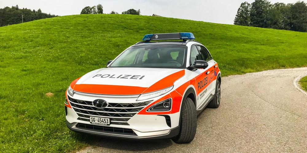 Schweiz: Kantonpolizei St. Gallen setzt auf Wasserstoff