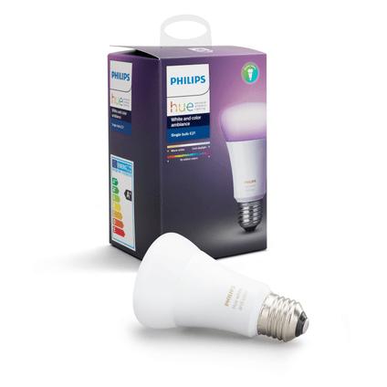 philips hue lampe standard blanc et couleur e27
