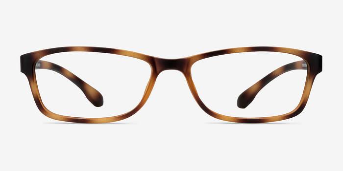 Versus Matte Tortoise Plastic Eyeglasses EyeBuyDirect