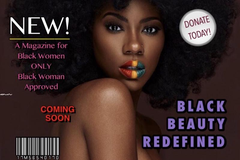 Image result for divine dark skin magazine