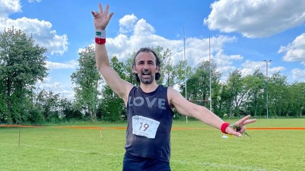 photo of Maurizio, running