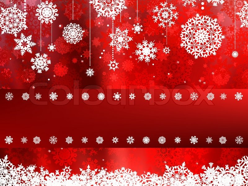Beige Christmas Background With Christmas Snowflake