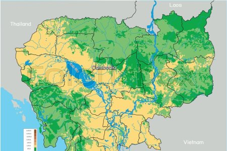 Vietnam physical map edi maps full hd maps geography and map amazon com vietnam physical map laminated w x h vietnam physical map laminated quot vietnam on physical map vietnam highlighted in red on publicscrutiny Images