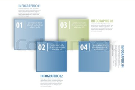 Business Infographics  strategy  timeline  design template     Stock vector of  Business Infographics  strategy  timeline  design template  illustration blue grey