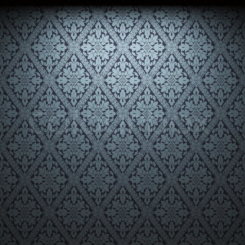 Illuminated Fabric Wallpaper Made In 3D Stock Photo