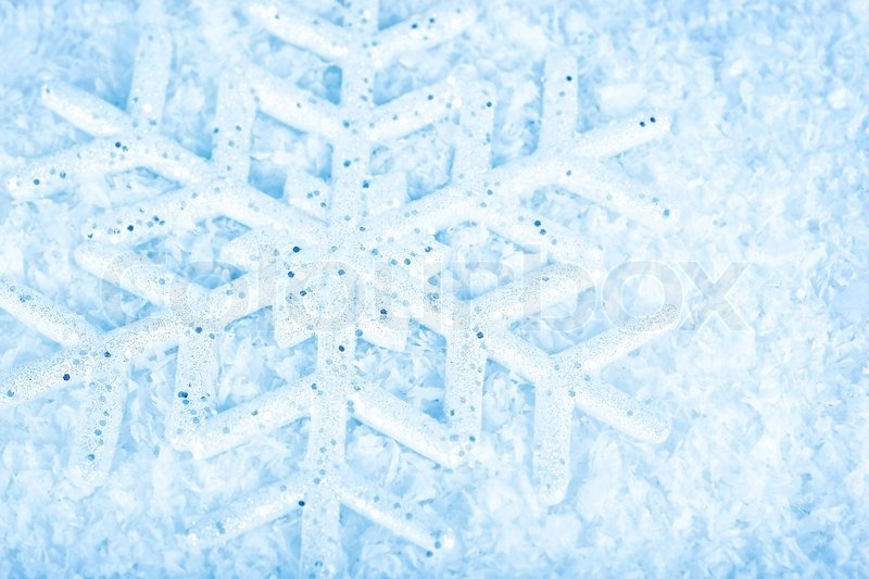Snowflake Blue Winter Holiday Background Christmas Tree