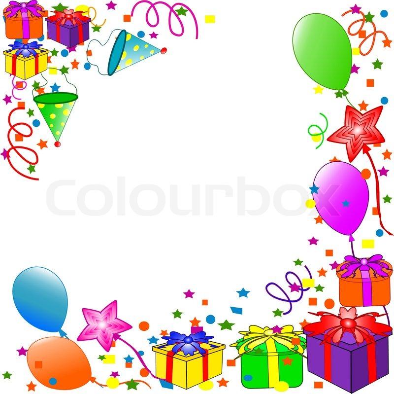 Alles Gute Zum Geburtstag Hintergrund Vektorgrafik