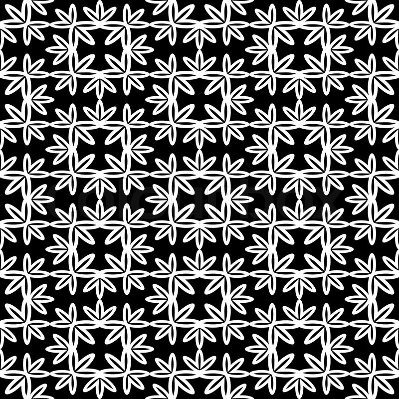 Abstract Background Monochrome Vector Wallpaper Damask