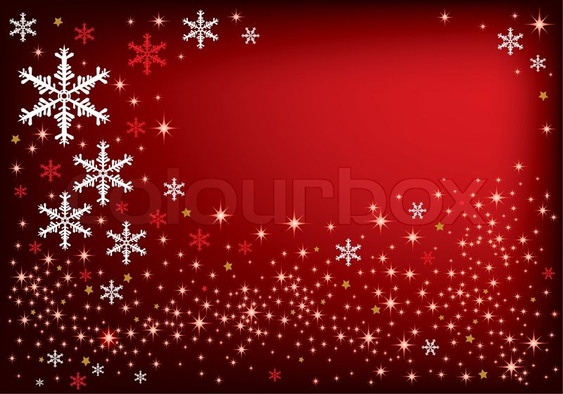 Christmas Background Design Stock Vector Colourbox