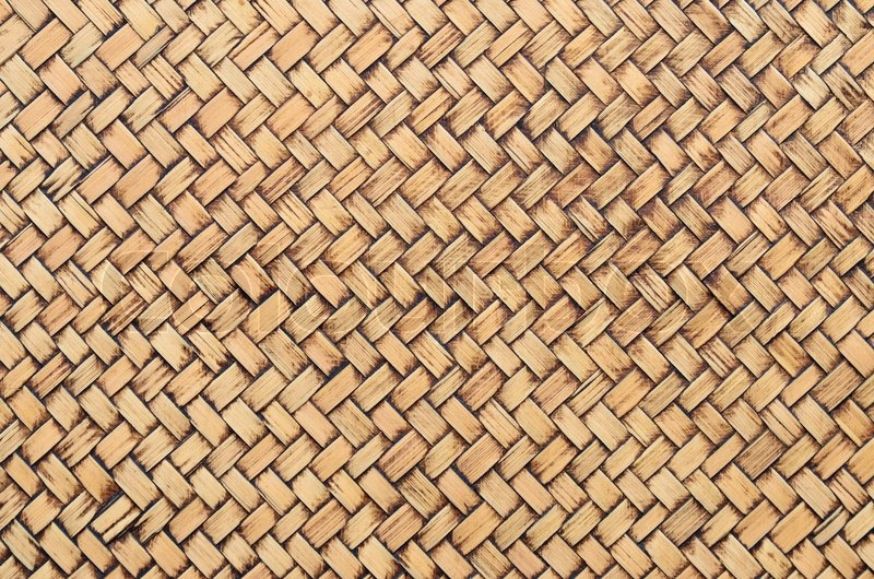 Texture Of Weaving Of Rattan Stock Photo Colourbox
