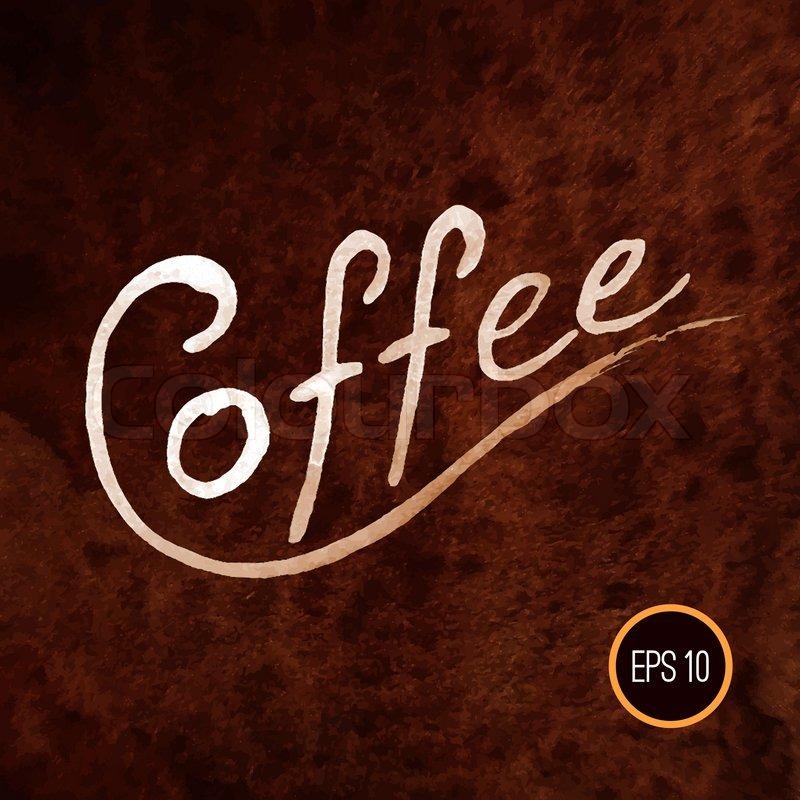coffee illustration coffee design