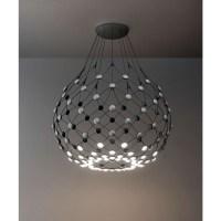Luceplan   Lampe à suspension LED D86 Mesh Ø100 cm, coupe ...