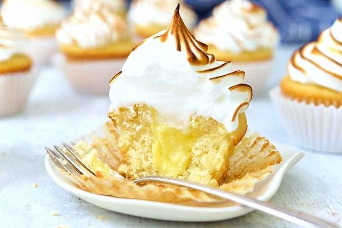 Lemon Meringue Cupcakes Recipe | King Arthur Flour