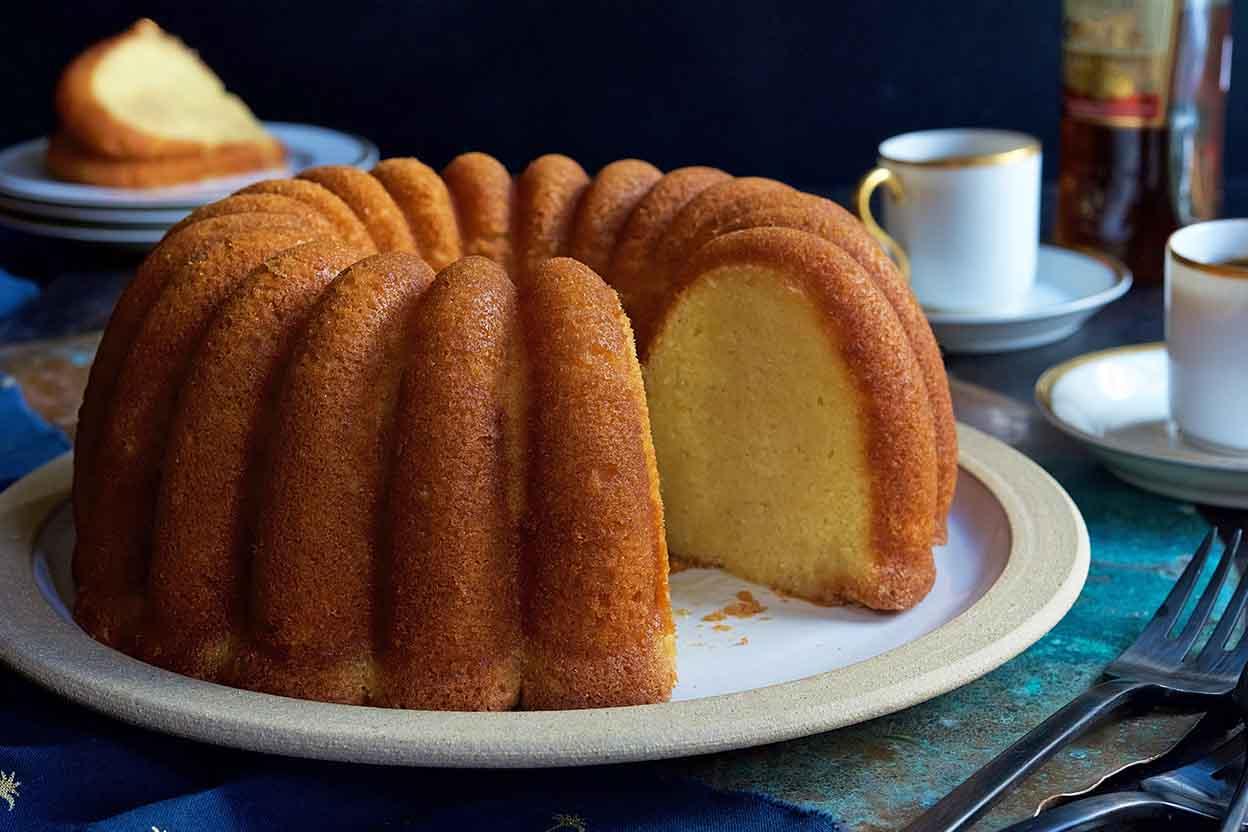 Caribbean Rum Cake Recipe
