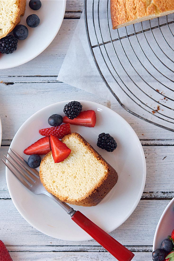 Cake Grams Simple Recipe Butter