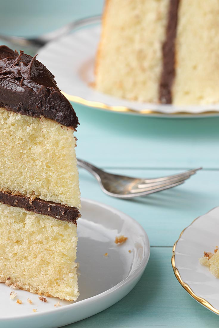 Back To Basics Yellow Cake Recipe King Arthur Flour