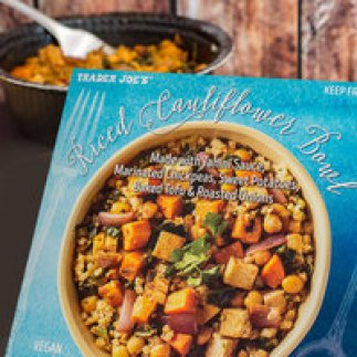 Image result for riced cauliflower bowl trader joe's