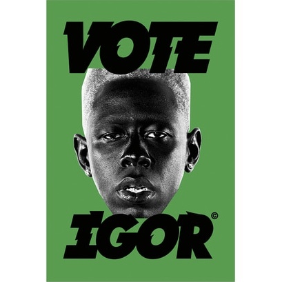 vote igor poster i got it from golf when i bought a
