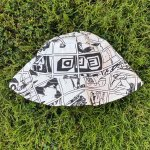 Reversible Bucket Hat Two Hats In One Anime Depop