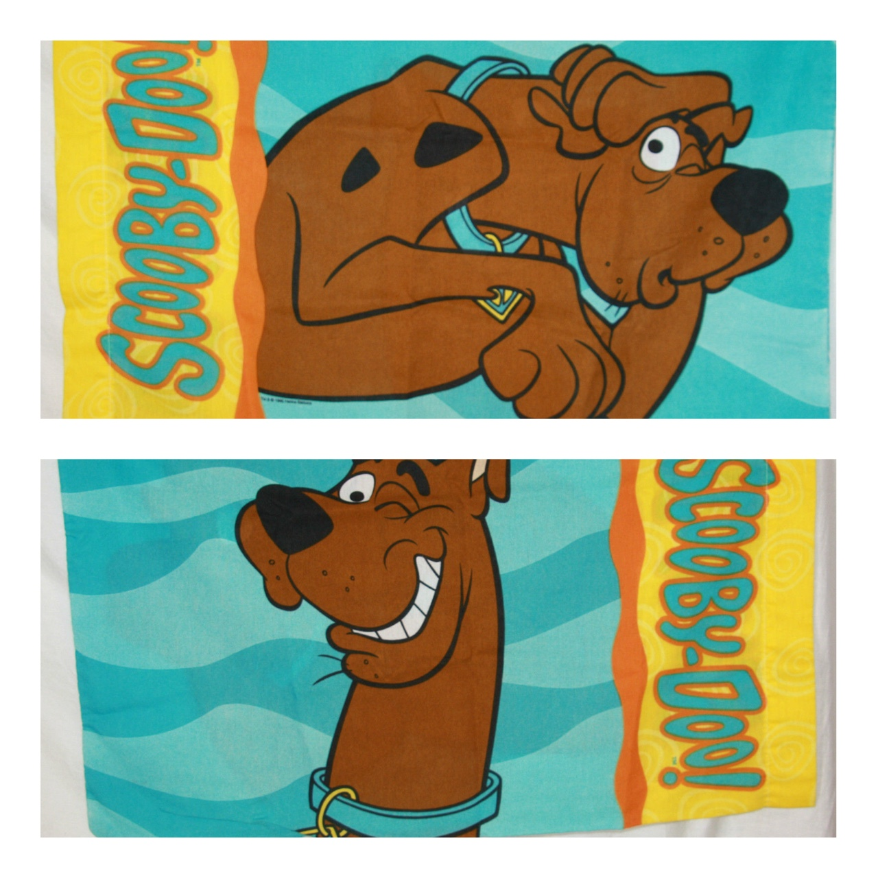 one vintage scooby doo pillow case vintage 90s