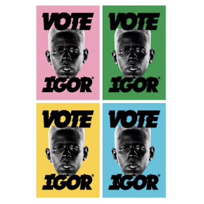 golf wang vote igor poster 2 available will