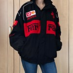 1996 Black And Red Ferrari Jacket Official Ferrari Depop