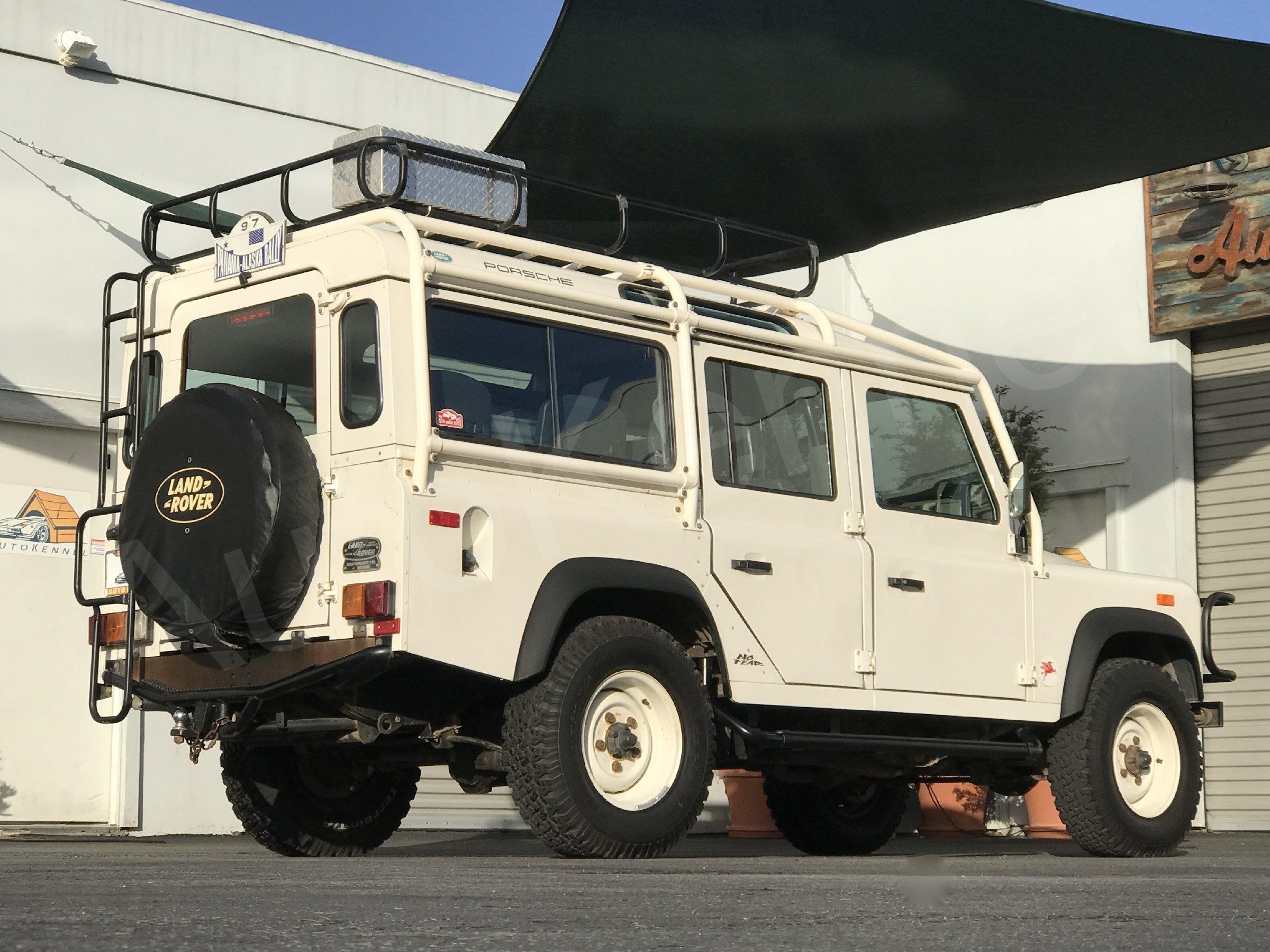 throtl 1993 Land Rover Defender NAS 110 1 of 500 1 Owner Jeff