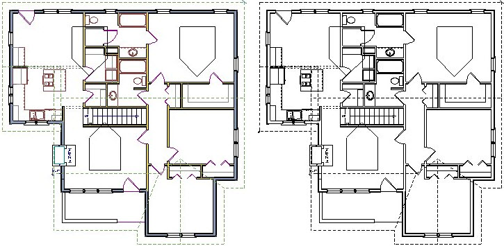Toggling Off Color In Floor Plan View