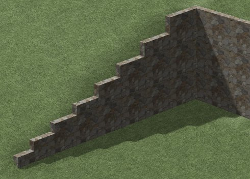 Creating A Retaining Wall