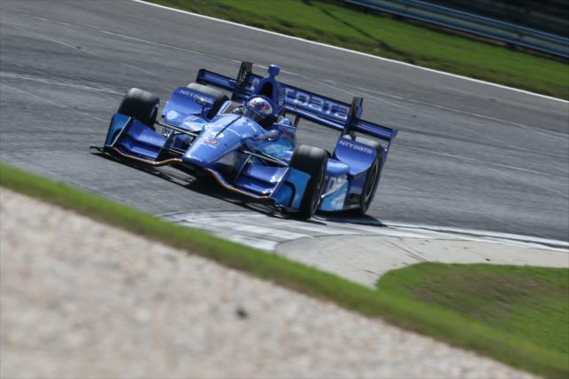 Cinco Top 5's en las primeras 5 carreras ha entregado Scott Dixon en su reencuentro con Honda (FOTO: Joe Skibinski/INDYCAR)