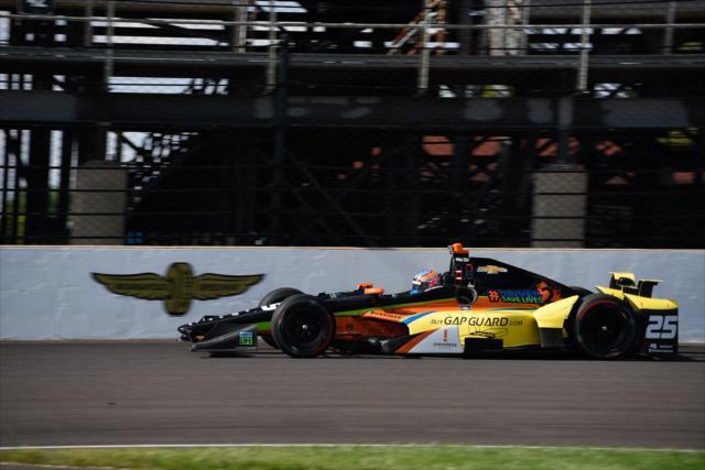 Wilson debutó en la Indy 500 en 2016, aunque abandonó por fallas mecánicas (FOTO: Dave Mathews/INDYCAR)