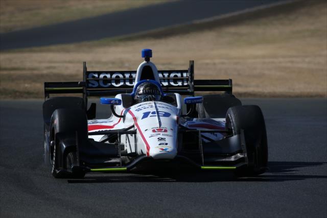 El campeón de Indy Lights en 2016 llega a Sonoma en el lugar 14 del ranking (FOTO: Chris Jones/INDYCAR)