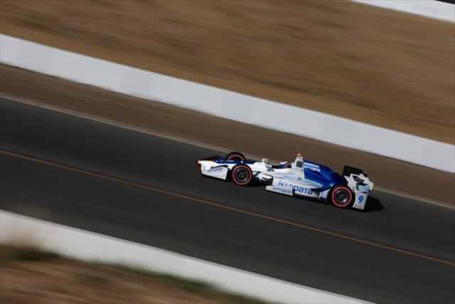 Dixon podría quedar en solitario como el segundo piloto con más campeonatos en la especialidad (FOTO: Joe Skibinski/INDYCAR)