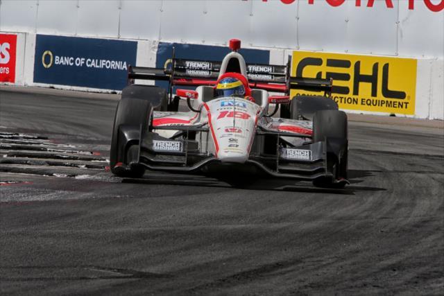 Es la primera vez desde 2011 que Bourdais maneja un auto/motor Honda (FOTO: Richard Dowdy/INDYCAR)