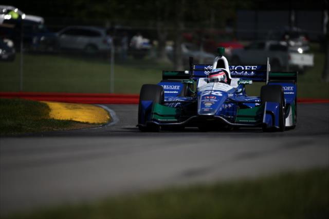 Sato finalizó cuarto en la visita de 2011 a Mid-Ohio (FOTO: Joe Skibinski/INDYCAR)