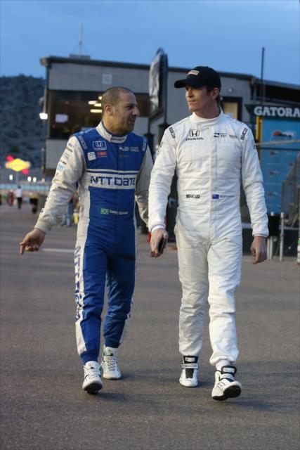 ¿Podrán Kanaan y Dixon sacar adelante a Honda? FOTO: Chris Jones/INDYCAR