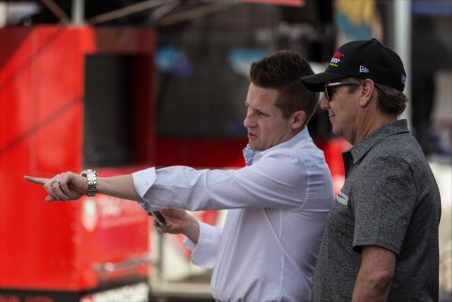 Vasser y James Sullivan se unieron a Coyne este año (FOTO: Joe Skibinski/IMS, LLC Photo)