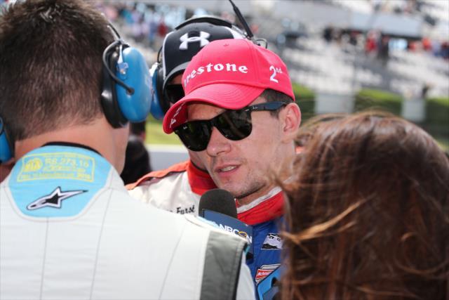 Aleshin logró un podium y una pole en 2016. FOTO: Bret Kelley/INDYCAR