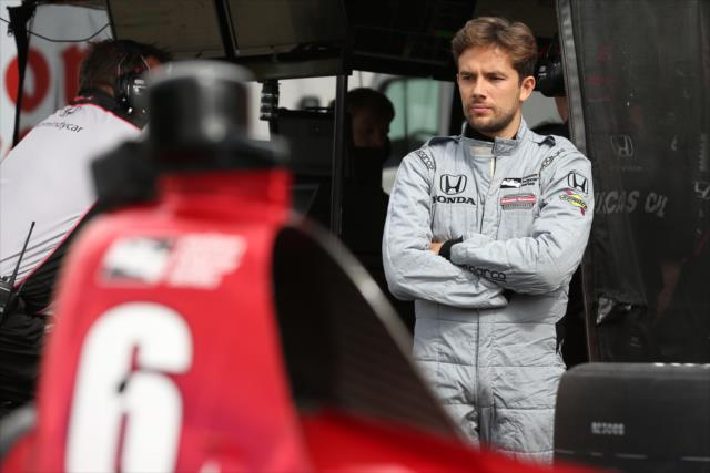 Muñoz vuelve a participar con Schmidt Peterson (FOTO: Chris Jones/IMS, LLC Photo)