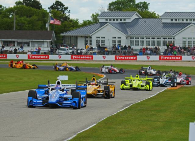 Dixon es el piloto más exitoso en esta pista, al ganar en cinco ocasiones; junto con Rahal, serán las cartas fuertes de Honda (FOTO: Mike Harding/INDYCAR)