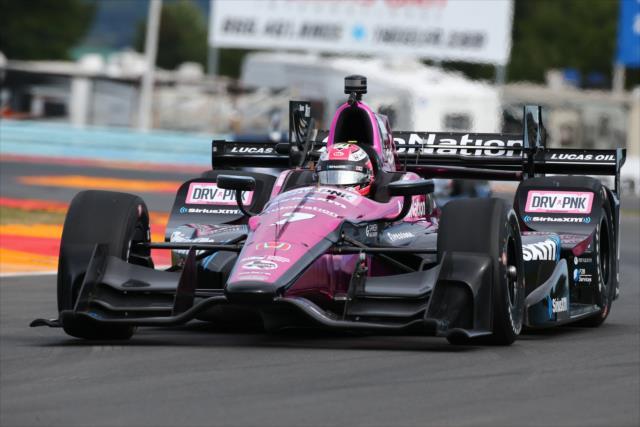 El segundo vehículo de Schmidt Peterson Motorsports es uno de los más cotizados al momento (FOTO: Bret Kelley/INDYCAR)